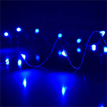 Blue LED Starry Fairy Dew Drop String Lights