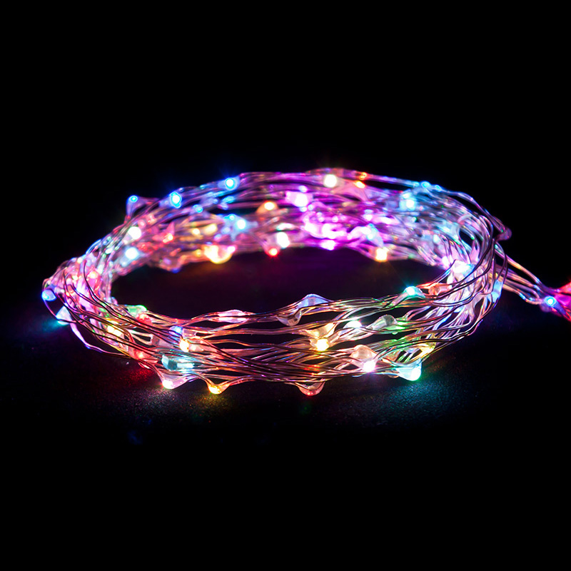 Thin Led String Lights : Ultra Thin LED Battery Operated String Lights - Oogalights.com - More Than 1,000 Party & String ...