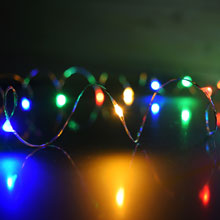 Multi-Color Starry Fairy Dewdrop String Lights