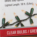 Garland Style Lights - 300 Count - Clear - GC1302070
