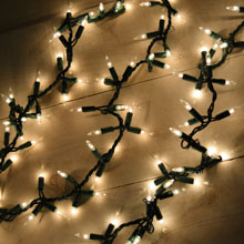 Garland Style Lights - 300 Count - Clear
