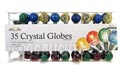 35 Count G28 Outdoor/Indoor Crystal Globe Party String Light Set - Multi-Color - BS-43000