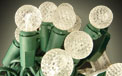 25 Count LED Outdoor/Indoor Globe Party String Light Set - Warm White