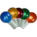Multi Color Globe Party String Lights - AI-0793
