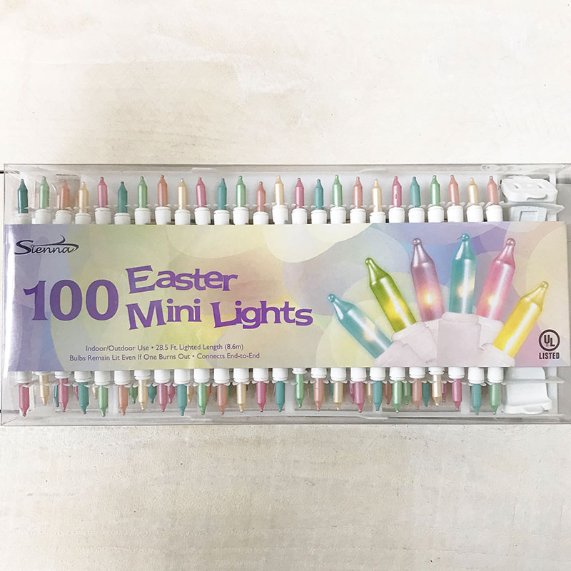 100 Count Pastel Colored Mini String Lights