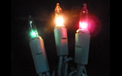 Red, Green & Orange Multi Color Multi Function Party String Lights - 905380