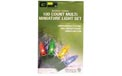 Multi-Color Party String Lights - Green Wire - 100 Lights - 903825