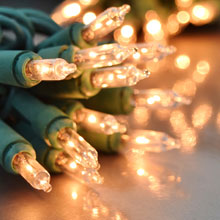 35 Count Miniature String Light Set - Clear Bulbs
