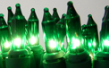 Green Christmas Party String Lights - 100 Lights - Green Wire - 905348