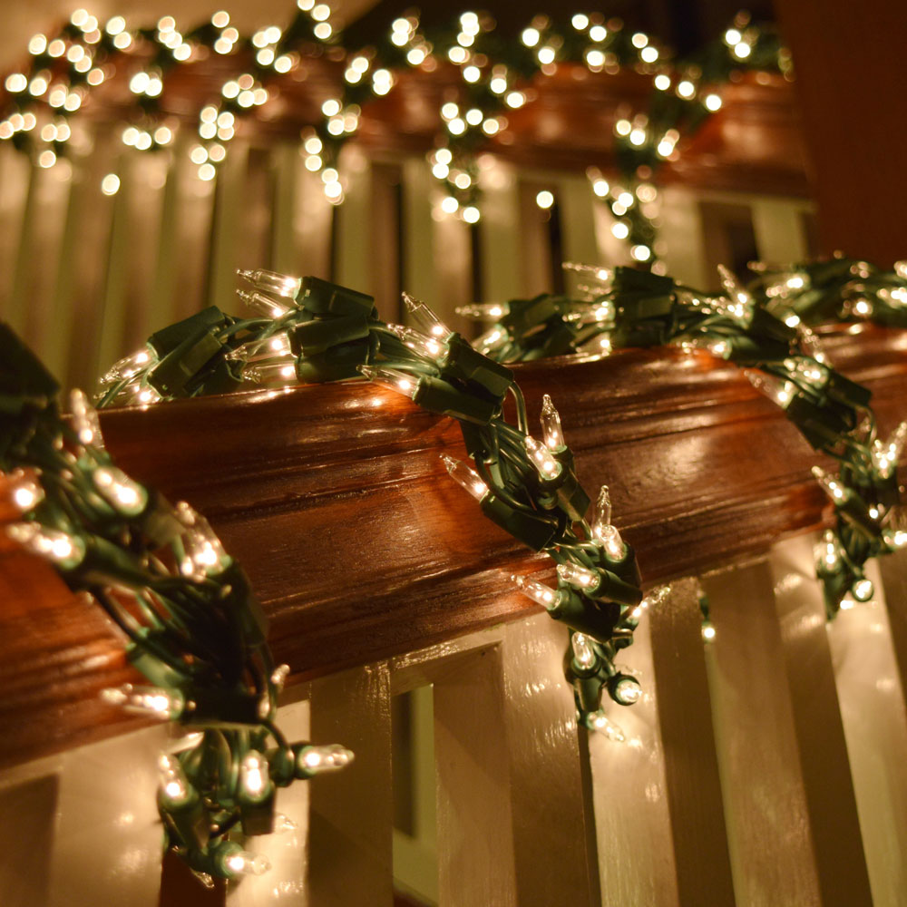 Brown Wire Christmas Lights