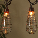 Wire Spiral ST40 Patio String Lights - 10 Lights - GC2201120