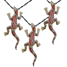 Leapin' Lizards Party String Lights