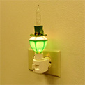 "7"" Irish Hat Night Light - 165006"