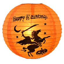 Halloween Headless Horseman Lantern