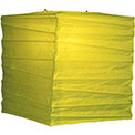 "Chartreuse 10"" Square Rice Paper Lantern - LSQCH"