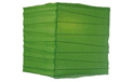 "Dark Green 10"" Square Rice Paper Lantern - LSQDGR"