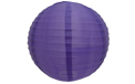 "Dark Purple 14"" Round Nylon Lantern - SH17"