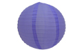 "Light Purple 14"" Round Nylon Lantern - SH15"