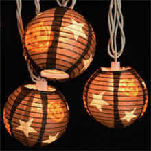Pumpkin Halloween Lantern String Lights