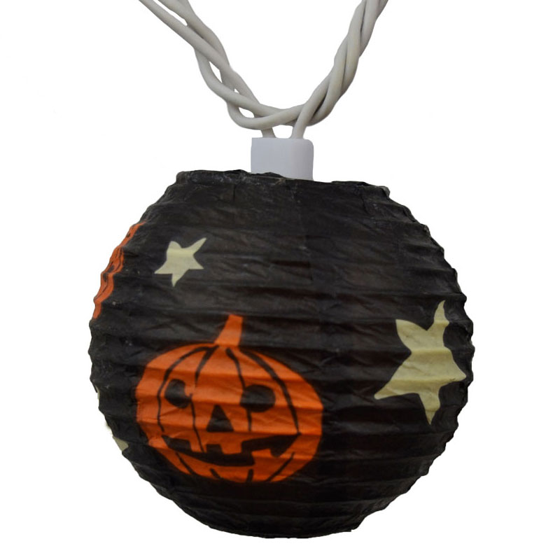 Halloween Pumpkin Lantern String Light Decorations