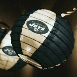New York Jets NFL Logo Lanterns & Lights - Oogalights.com - More Than 1,000 Party & String Light ...