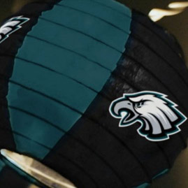 Philadelphia Eagles NFL Logo Lights
