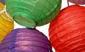 Multi Color Flatpack Paper String Light Lanterns - L51F
