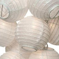 White Paper String Light Lanterns - L50F