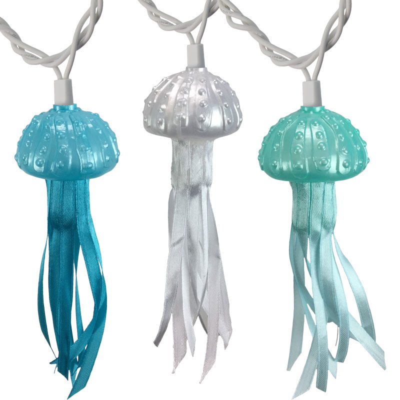 Tropical Jellyfish Party String Lights - 10 Lights