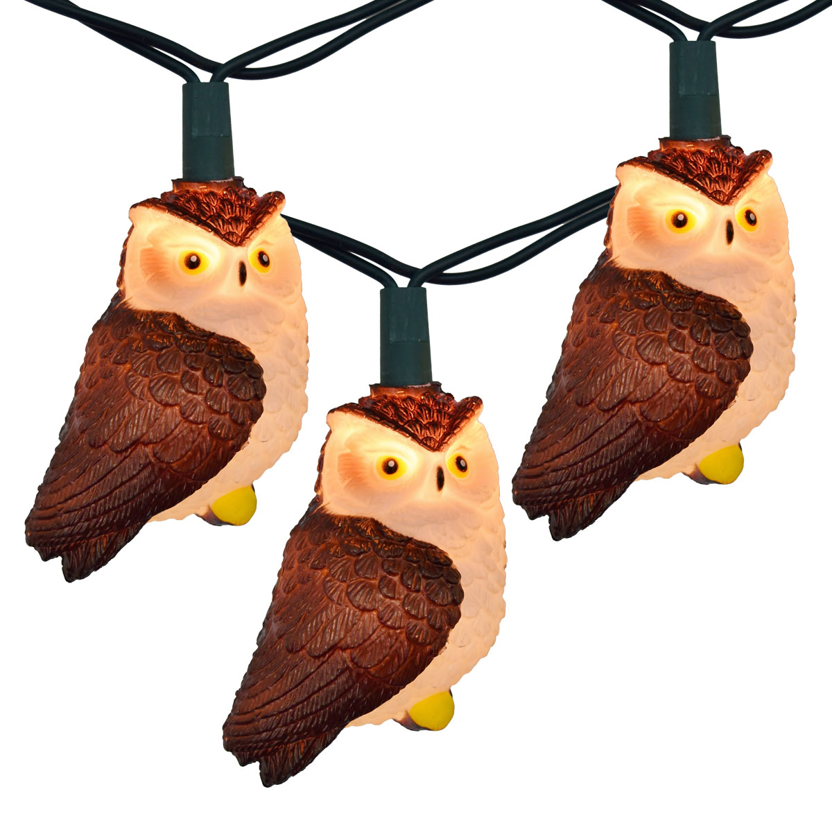 Brown Owl Party String Lights