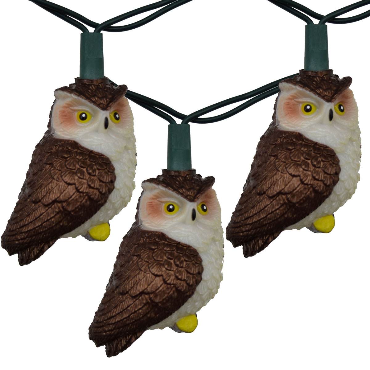 Brown Owl Party String Light Set