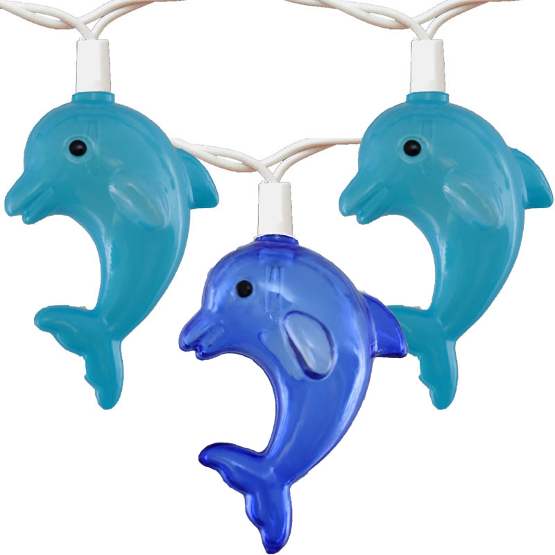 Dolphin  Tropical Party String Lights