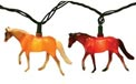 Walking Horses Party String Lights EG376