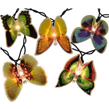 Butterfly Party String Lights - Fiberoptic Lights