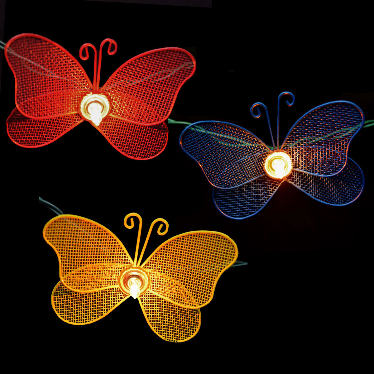 Butterfly Party String Lights : Spring Inspired Party String Lights & Decorations