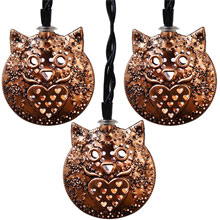 LED Owl Pary String Lights