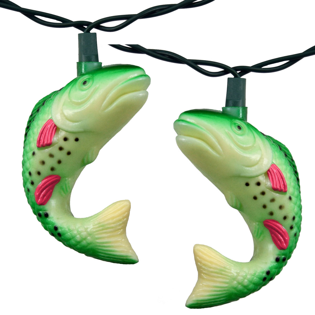 Flippin' Trout Party String Lights