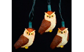 Brown Owl Party String Light Set UL4235