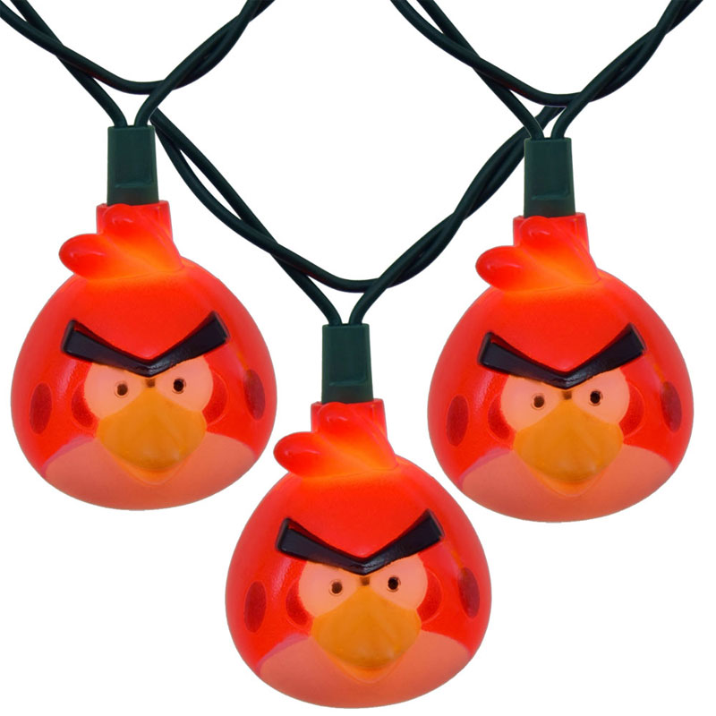 Angry Bird Party String Lights
