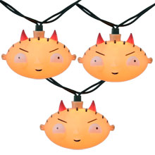 Family Guy Devil Stewie Christmas String Light