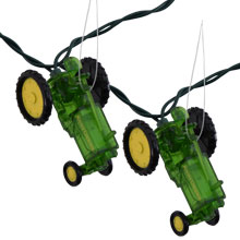 John Deere Tractor Novelty String Lights