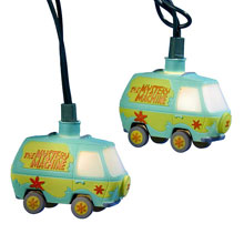 Scooby-Doo Mystery Machine Van Party String Lights