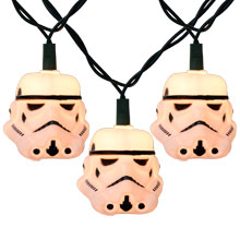 Star Wars Storm Trooper Party String Lights - 10 Lights SW9142