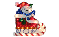 "15-17"" Polar Bear On Joy Sleigh Holographic - BS-65700"