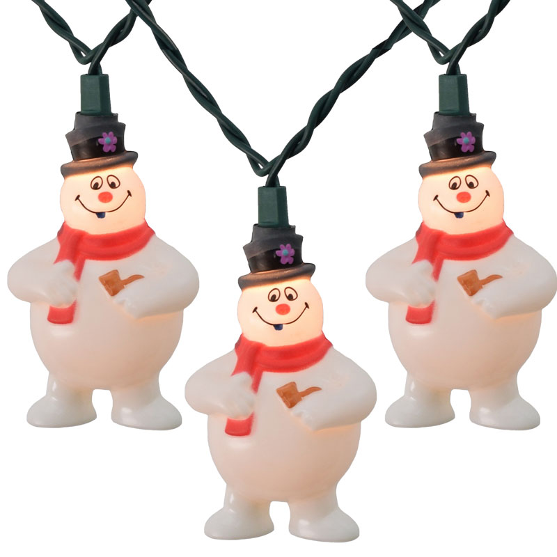 Attractive Frosty The Snowman Christmas Novelty Lights Great Pictures