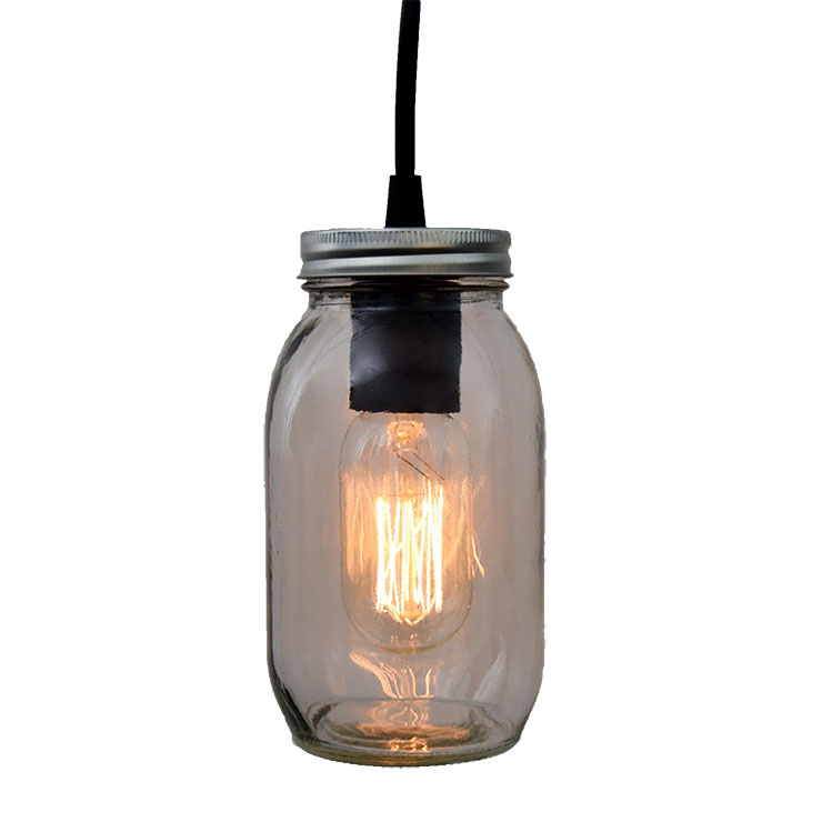 Electric Mason Jar - 6.5""