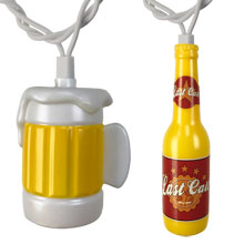 Bottles & Beer Mugs Party String Lights CM-42661