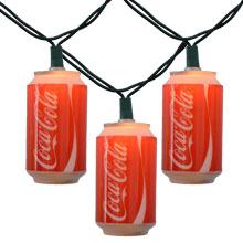 Coca Cola Soda Can Party String Lights