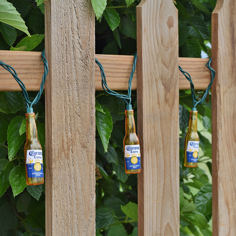 Beer Garden String Lights : Corona Extra Beer Bottle Party String Lights - 10 Lights