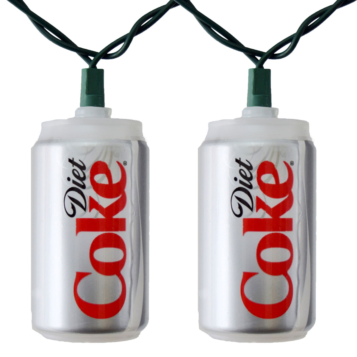 Diet Coca Cola Soda Can Party String Lights